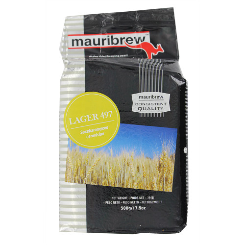 Mauribrew Lager - Dry Brewing Yeast 500G (Lager Beer)