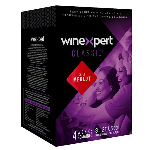 Classic Chilean Merlot Wine Ingredient Kit