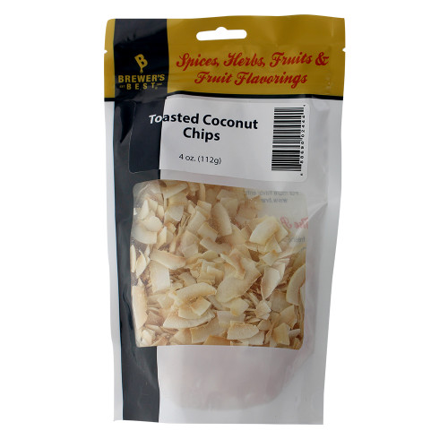 Brewer's Best Toasted Coconut Chips 4 oz
