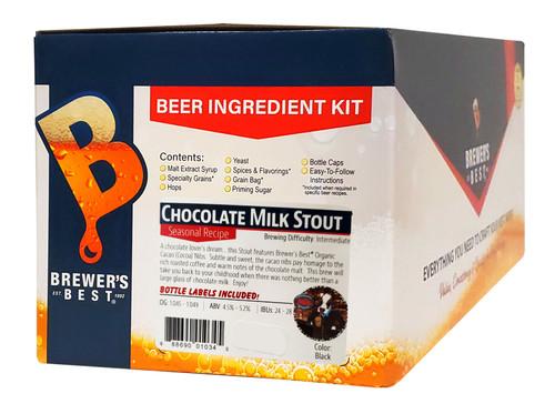 Brewer's Best Chocolate Milk Stout Beer Kit - 5 Gallon