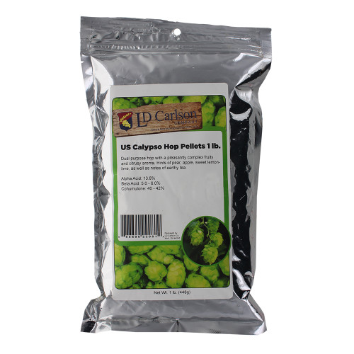 Hopunion US Hop Pellets for Home Brew Beer Making (Calypso) 1 lb