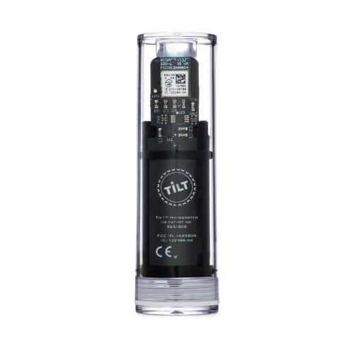 Tilt Digital Wireless Hydrometer And Thermometer For Smartphone Or Tablet (Black)