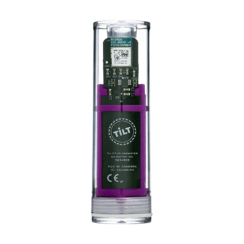Tilt Digital Wireless Hydrometer And Thermometer For Smartphone Or Tablet (Purple)