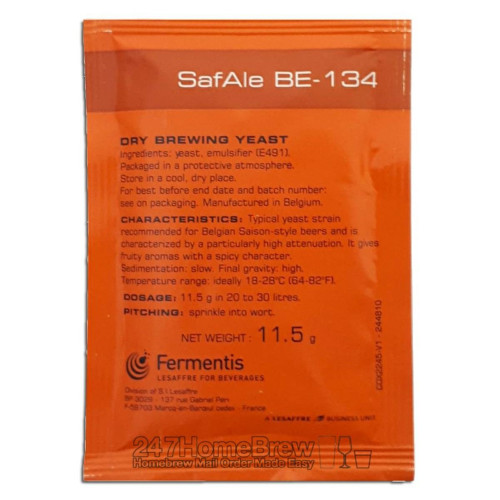 Safale BE-134 Dry Yeast - 11.5 g