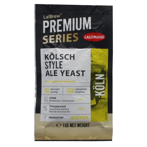 Lallemand LalBrew Premium Series KOLN Kolsch Style Ale Yeast (11 Grams)
