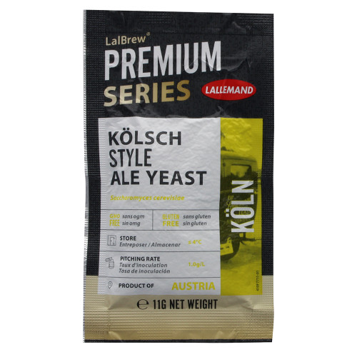 Lallemand LalBrew Premium Series KOLN Kolsch Style Ale Yeast (11 Grams)