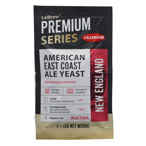 Lallemand LalBrew Premium Series American East Coast Ale Yeast (11 Grams)