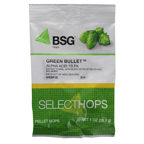 Green Bullet Hop Pellets 1 oz