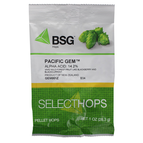 Pacific Gem Hop Pellets 1 oz