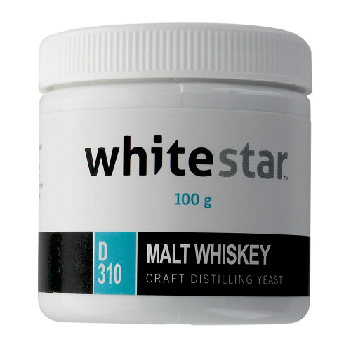 White Star Craft Distilling Yeast (Malt Whiskey, 100 Gram)