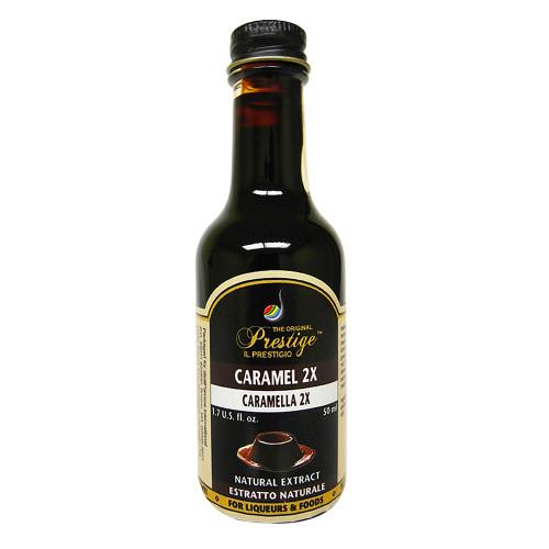 Liquor Quik Prestige Caramel 2X Essence 50ml