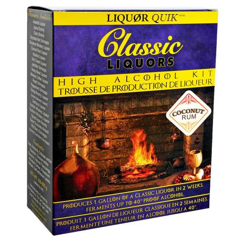 Liquor Quik Classic Liquors One Gallon High Alcohol Kit (Coconut Rum)