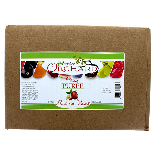 Brewer's Orchard Natural Passion Fruit Puree 11 Lb
