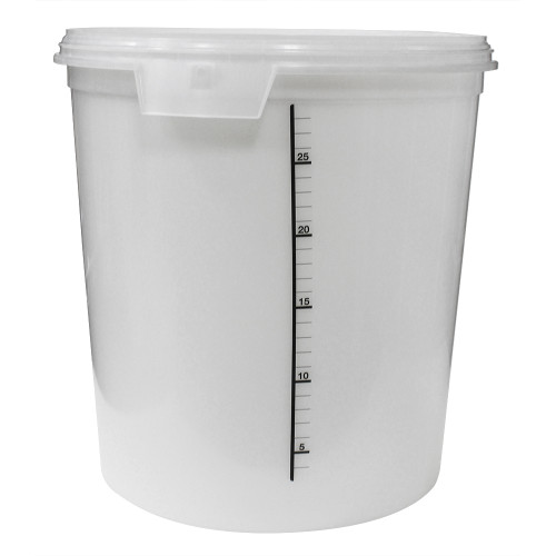 Ergopac ClearBrew Pail, 32L (Pail Only No Lid)