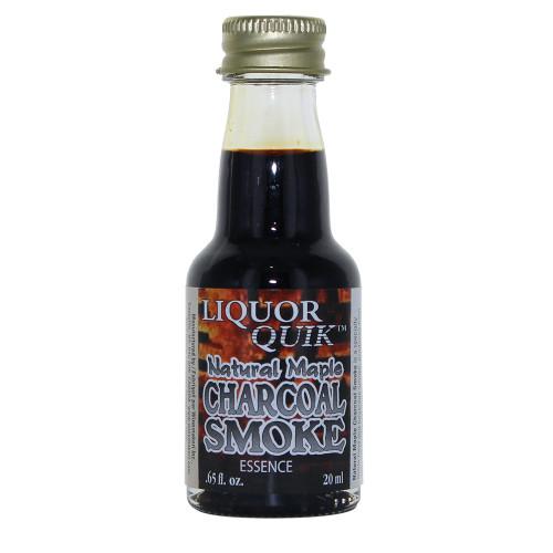 Liquor Quik Essence - Natural Maple Charcoal Smoke Essence, 20ml