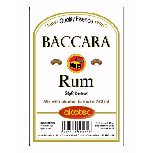 Alcotec Baccara Rum Essence 20g