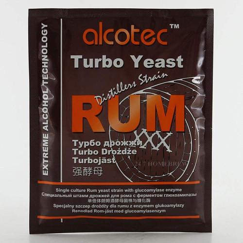 Alcotec Distiller's Turbo Yeast Rum with Glucoamylase