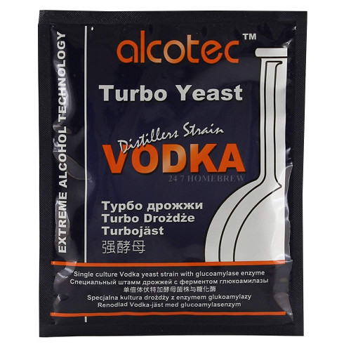 Alcotec Distiller's Yeast Vodka with Glucoamylase Enzyme