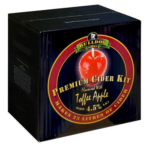 Bulldog Brews Premium Cider Kit Toffee Apple