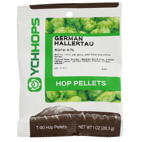 Pellet Hops - German Hallertau - 1 oz