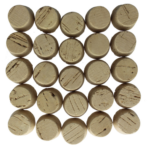 Size 10 Tapered Cork Stoppers, Standard