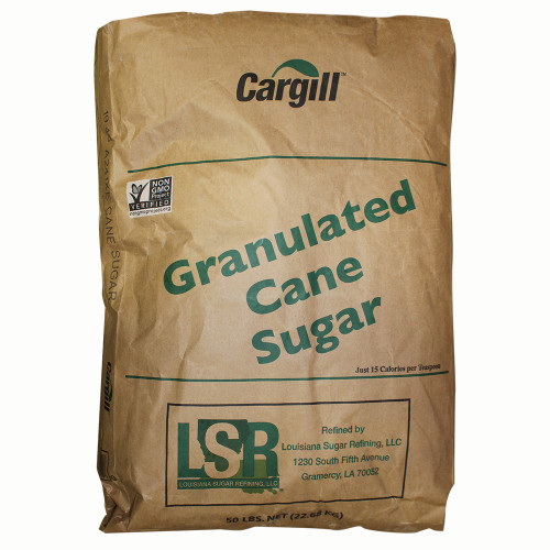 Cane Sugar 50 LB