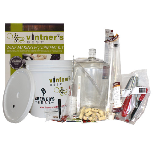 #3012BB Starter Winemaking Equipment Kit w/ Better Bottle & Double Lever Corker