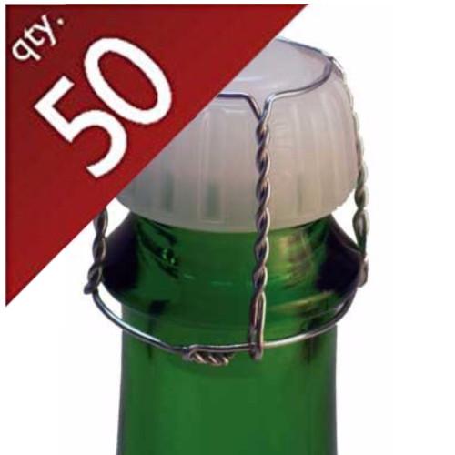 Wire Hoods.  Bag of 50