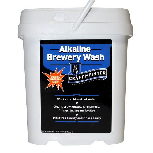 Craft Meister Alkaline Brewery Wash: 5 Tub