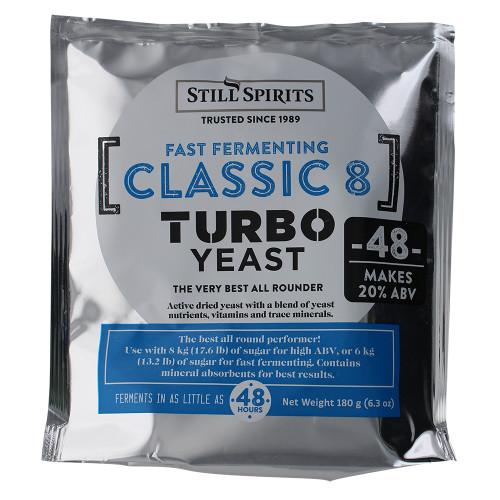 Still Spirits Classic Turbo Yeast 48 Hour