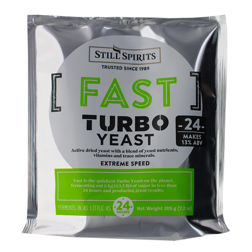 Still Spirits Fast Turbo Yeast 24 hour