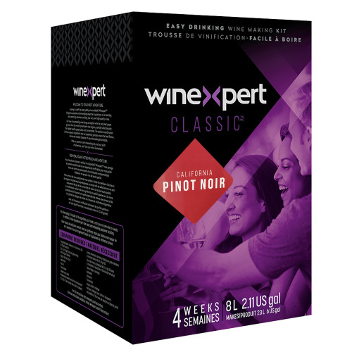 Classic California Pinot Noir Wine Ingredient Kit