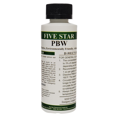 PBW Cleaner 4oz (Non-Caustic Powder)