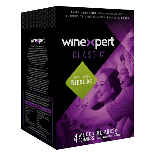 Classic Washington Riesling Wine Ingredient Kit