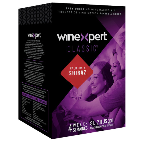 Classic California Shiraz Wine Ingredient Kit