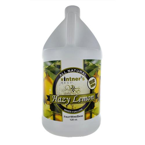 Vintner's Best Fruit Wine Base 128oz Jug - Hazy Lemon