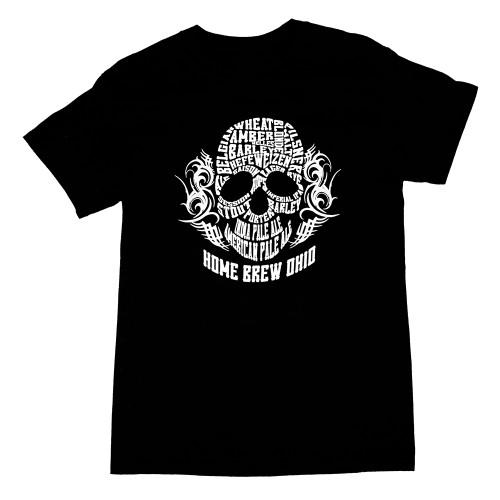 Home Brew Ohio Skull T-Shirt Men