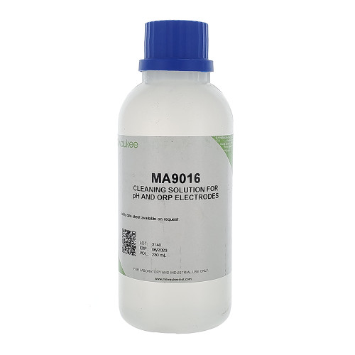 Milwaukee Instruments MA9016 Cleaning Solution for pH/ORP Electrode, 230 mL