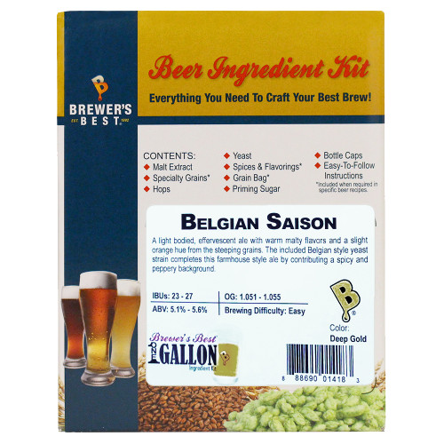 Belgian Saison Beer Kit - 1 Gallon