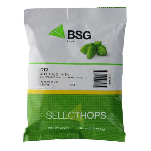 CTZ (US) Hop Pellets 8 oz