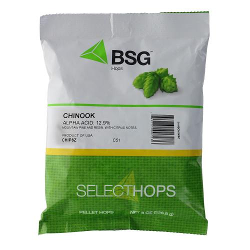 Chinook (US) Hop Pellets 8 oz