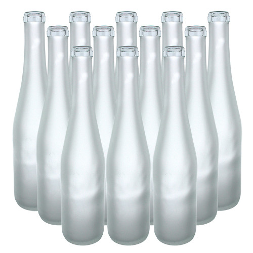 375 ml Frosted Stretch Hock Bottles, 12 per case