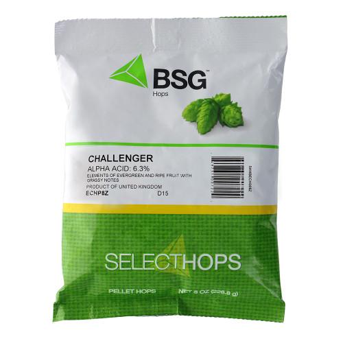 Challenger (UK) Hop Pellets 8 oz