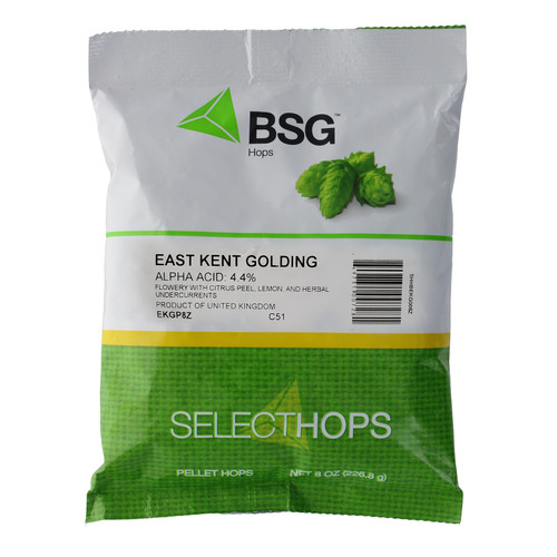 East Kent Golding (UK) Hop Pellets 8 oz