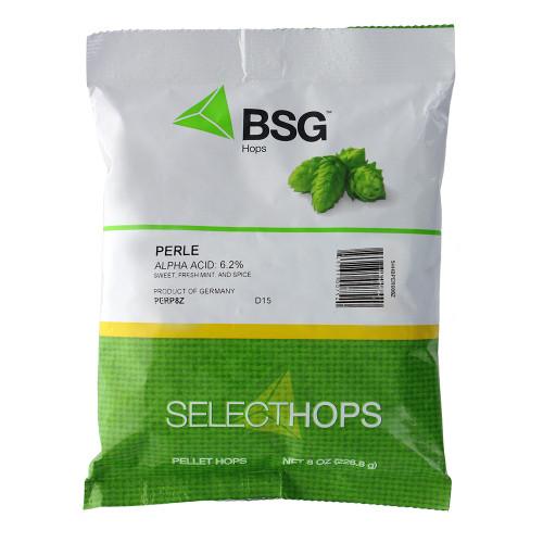 Perle (GR) Hop Pellets 8 oz