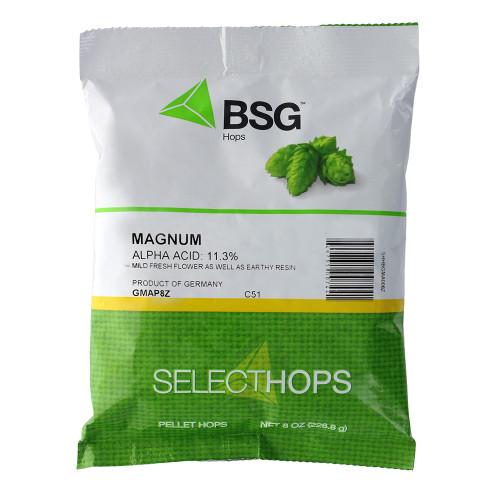 Magnum (GR) Hop Pellets 8 oz