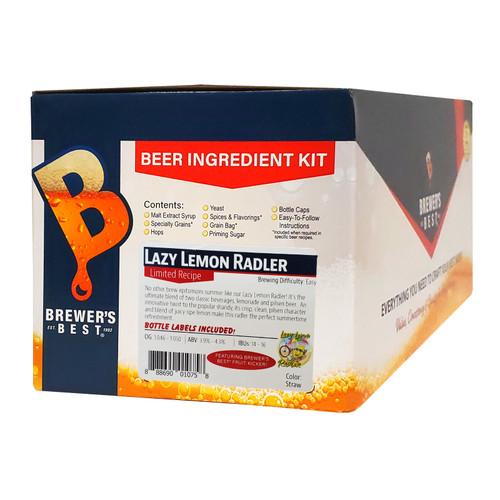 Brewer's Best Lazy Lemon Radler IngredientKit