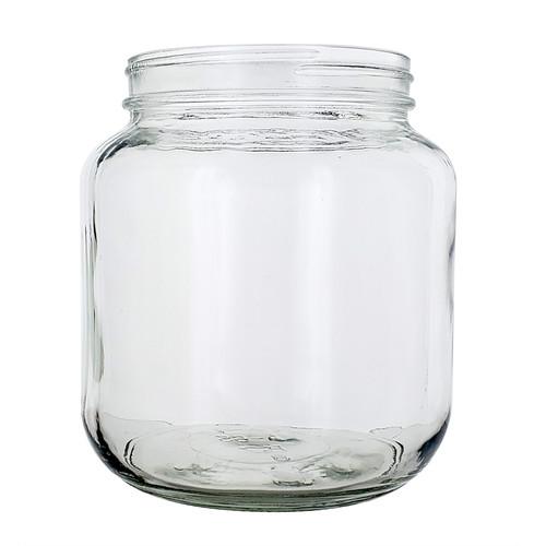 64oz Wide Mouth Jar (No Lid)
