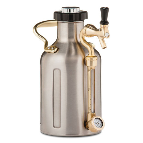 UKeg 64 - Stainless Carbonated Growler