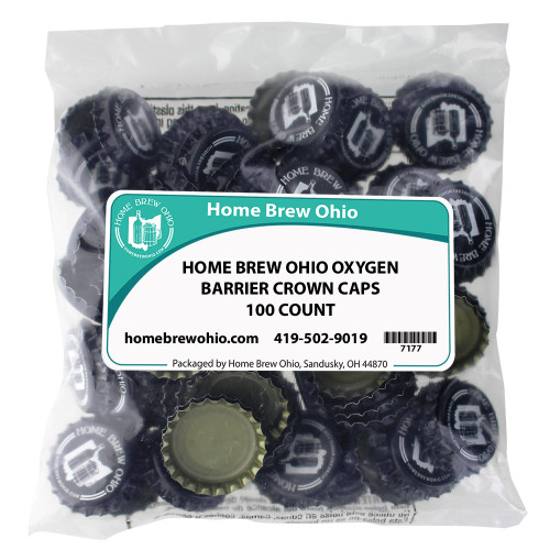 Home Brew Ohio Logo Crown Caps 100 count